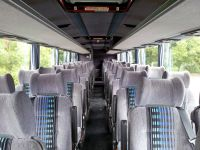 Interior shot of our coaches | Professional Touring